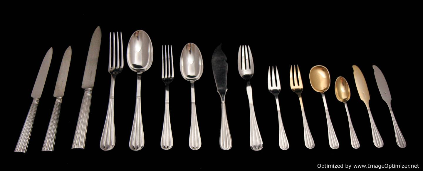 CHRISTOFLE CARDEILHAC STERLING SILVER DINNER KNIVE